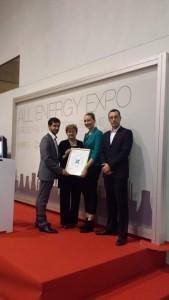 [PRIZNANJE] SUPEUS dobitnik 'Croatian Energy Award' 2014
