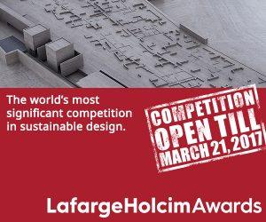 [LafargeHolcim Awards] Natječaj za studente