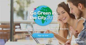 Go Green in the City natjecanje