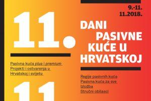 |NAJAVA| 11. Dani pasivne kuće u Hrvatskoj
